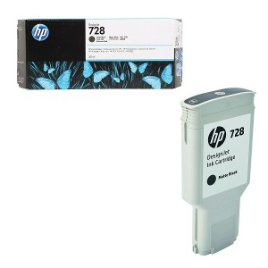 Cartucho de Tinta HP 728 Negro  300ml