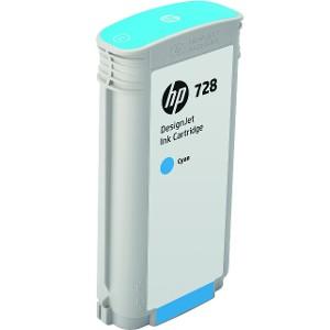 Cartucho de Tinta HP 728 Cían 130ml