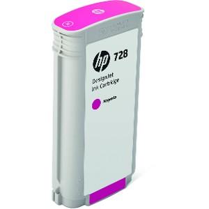Cartucho de Tinta HP 728 Magenta 130ml