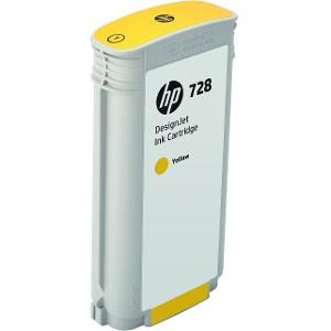 Cartucho de Tinta HP 728 Amarillo 130ml