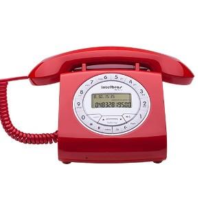 Teléfono con cable Intelbras TC8312 Rojo