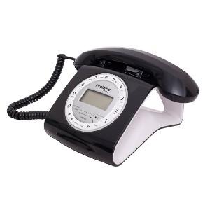 Teléfono con cable Intelbras TC8312 Negro