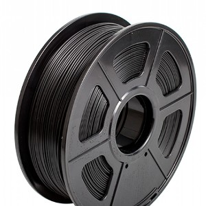 Filamento 3D PLA 1.75mm  1KG Color Negro