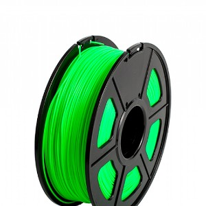 Filamento 3D PLA 1.75mm  1KG Color Verde