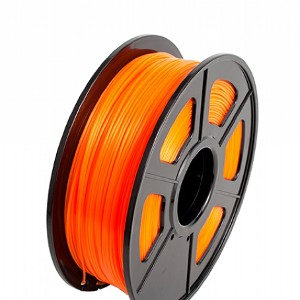 Filamento 3D PLA 1.75mm  1KG Color Naranja