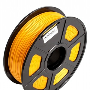Filamento 3D PLA 1.75mm  1KG Color Amarillo