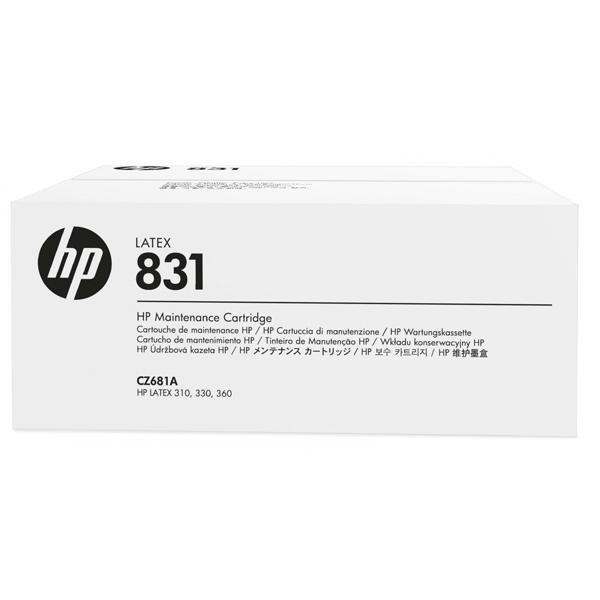 Cartucho de mantenimiento para plotter latex HP831