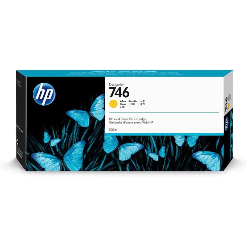 Cartucho de tinta Amarillo HP 746 DesignJet  de 300 ml