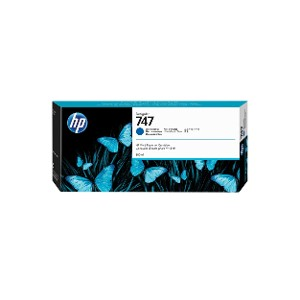 Cartucho de tinta Azul HP 747 DesignJet  de 300 ml