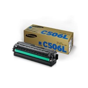 Toner Original Samsung CLT-C506L Cían para CL-680 y CLX-6260