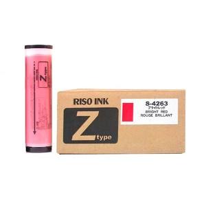 Tinta Para Duplicador Riso Rojo Brillante S-4263 RZ/MZ