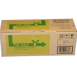 Toner Kyocera Color Amarillo TK-582Y