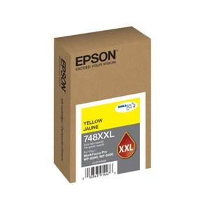 Cartucho de alto rendimiento Epson T748XXL420-AL Color Amarillo