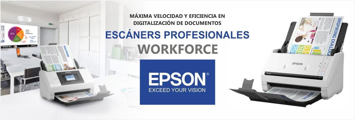 Banner Escáneres WORKFORCE
