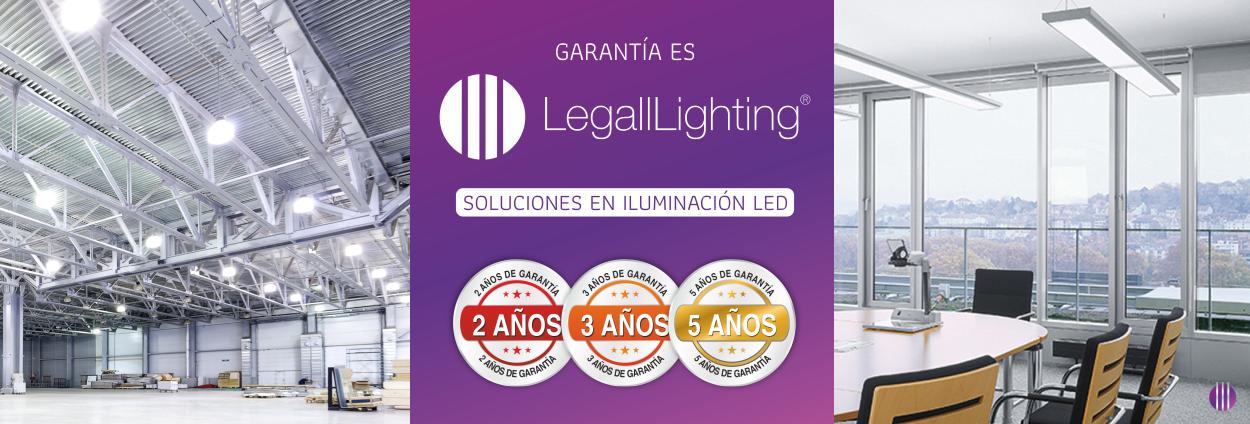 Legalllighting Soluciones en Iluminación LED BAnner Main