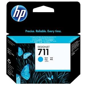 Cartucho de tinta DesignJet HP 711 de 29 ml cian(CZ130A)
