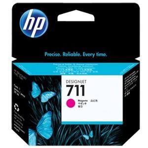 Cartucho de tinta DesignJet HP 711 de 29 ml magenta(CZ131A)