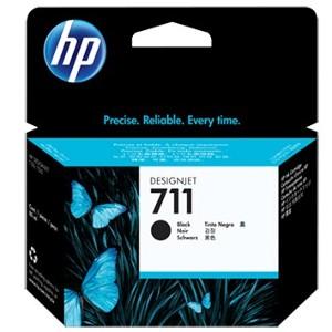 Cartucho de tinta DesignJet HP 711 de 80 ml negro(CZ133A)