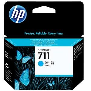 Pack de ahorro de 3 cartuchos de tinta DesignJet HP 711 de 29 ml cian(CZ134A)