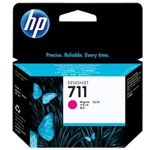 Pack de ahorro de 3 cartuchos de tinta DesignJet HP 711 de 29 ml magenta(CZ135A)